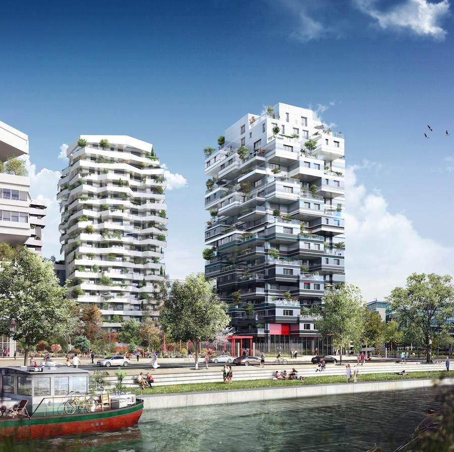 Un immeuble de luxe port e de main epoch times for Architecture traditionnelle definition