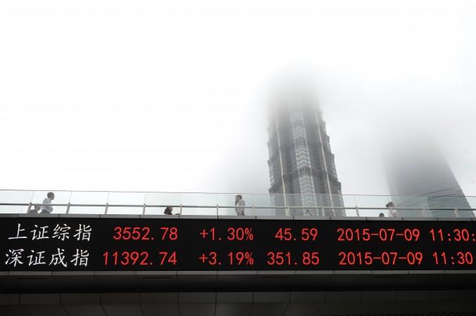 Après la chute de la bourse de Shanghai, les autorités chinoises traquent les ventes à découvert