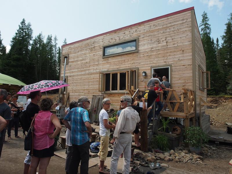 Les mini-maisons attirent les Québécois
