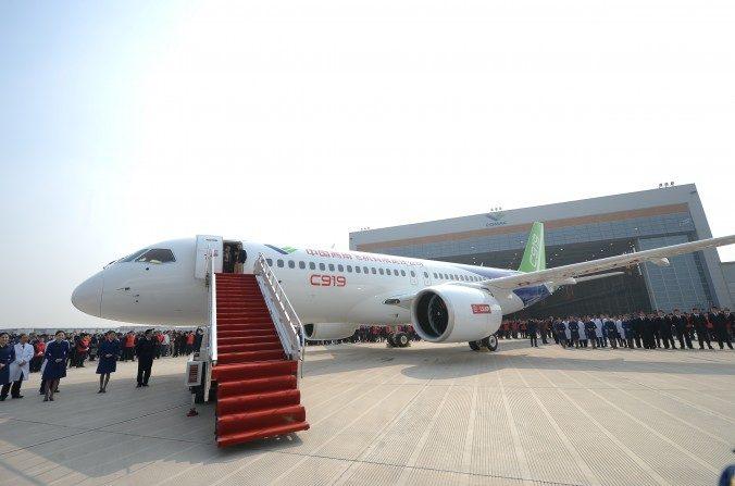 Boeing et Airbus aident la Chine à construire les premiers avions de ligne «chinois»