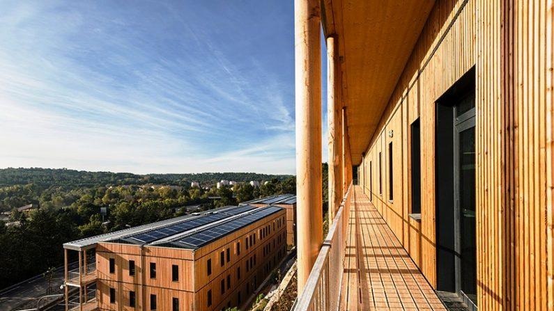 Le premier parc tertiaire 100% bois à énergie positive