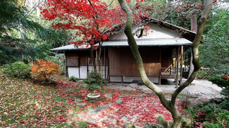 des maisons japonaises du xixe si cle restaur es architecture epoch times. Black Bedroom Furniture Sets. Home Design Ideas