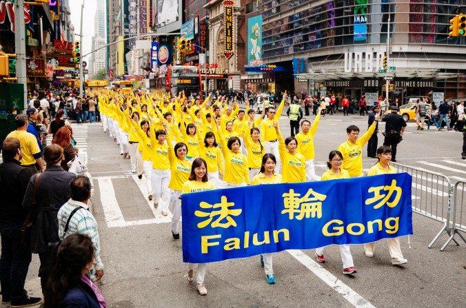 Une grande parade à Manhattan envoie un message de paix et expose la persécution en Chine