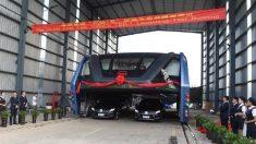 La cacophonie des tests présumés du bus géant chinois