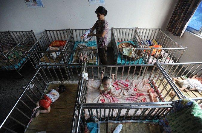 Le trafic d'enfants en Chine