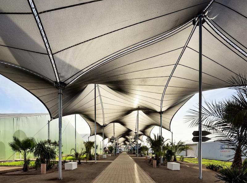 L'agence d'architecture Oualalou+Choi a aménagé la COP22