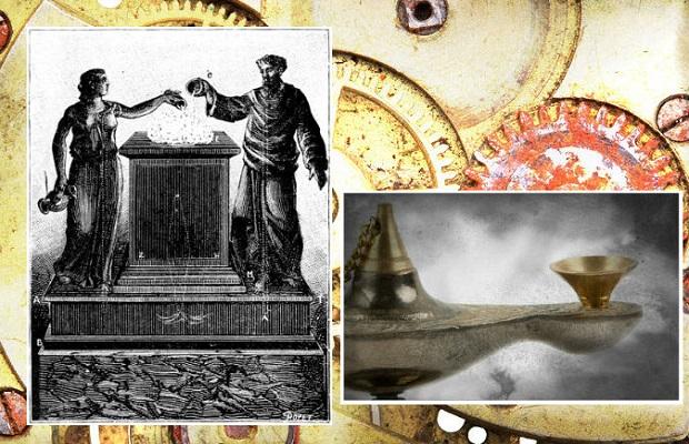 Les illusions étaient créées dans les temples par d'incroyables inventions