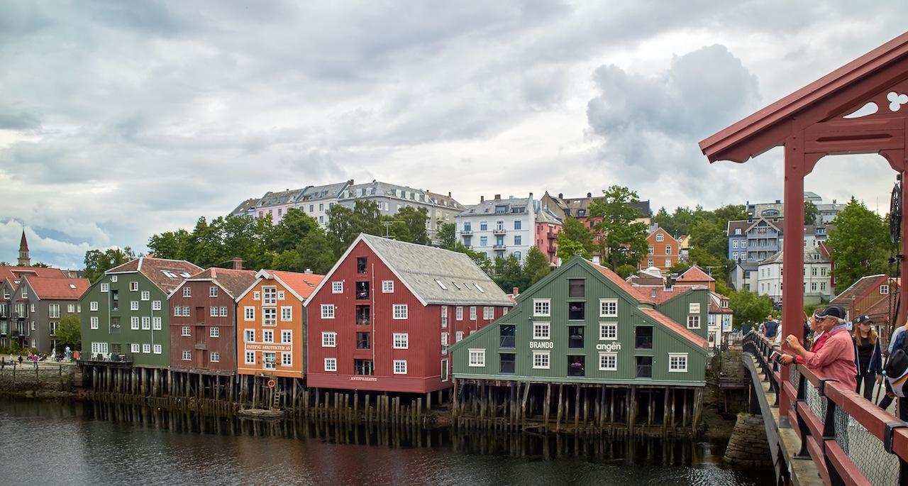 Osez le Nord norvégien! Une visite à Trondheim