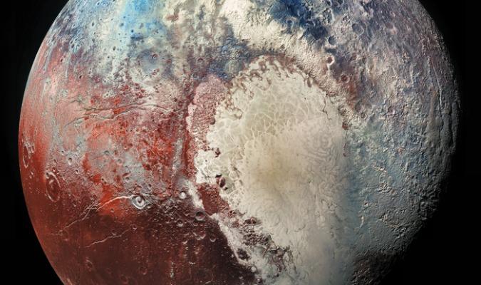 Un océan souterrain au cœur de Pluton pourrait changer son axe de rotation