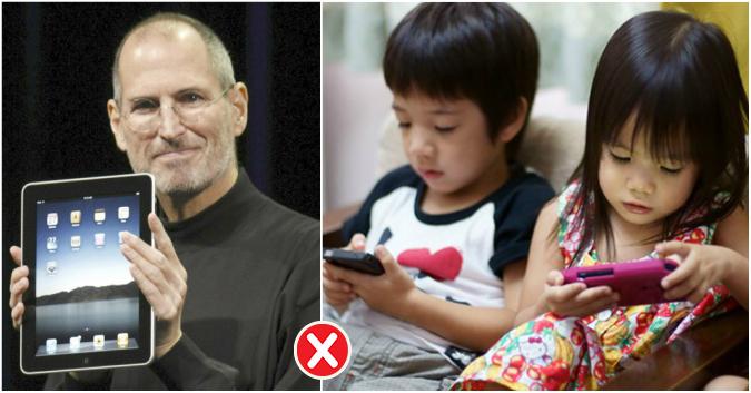 Pourquoi Steve Jobs ne laissait pas ses enfants se servir d'iPad ni d'iPhone