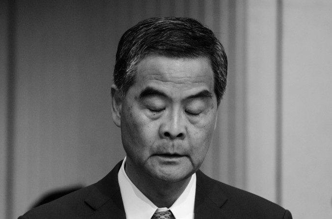 Le chef de l'exécutif de Hong Kong sur la sellette
