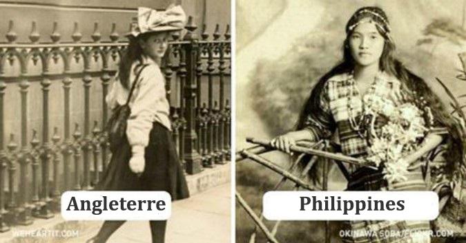 Voici à quoi ressemblaient les jeunes autour du monde il y a 100 ans