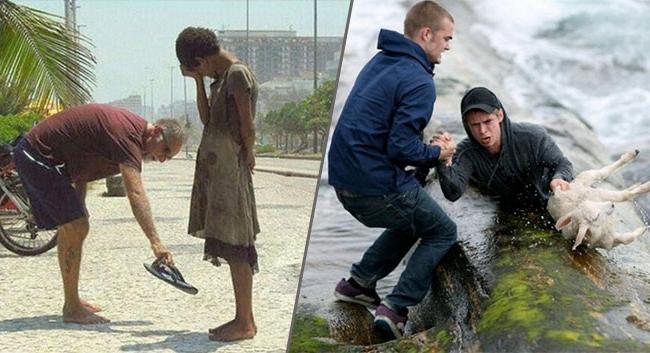 20 photos d'actes héroïques qui montrent que l'amour est partout dans le monde