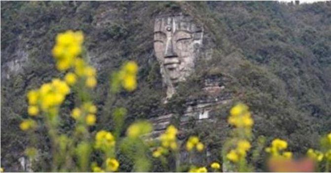 Dissimulée des milliers d'années, la plus grande statue de Bouddha au monde a soudain refait surface