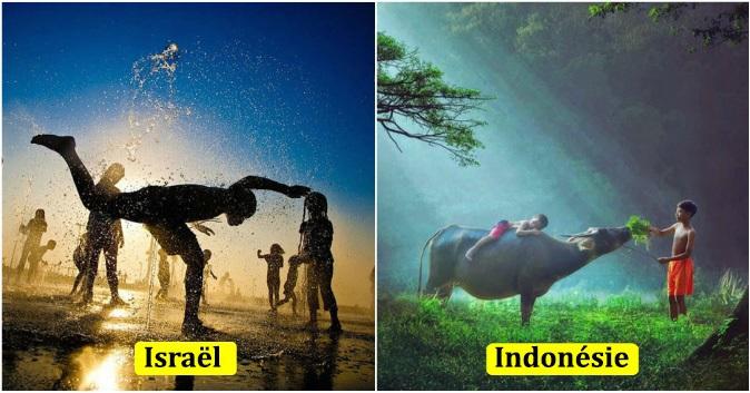 15 photographies de jeux d'enfants d'autour du monde