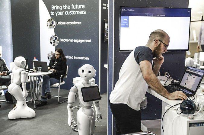L'avenir des emplois: une bataille entre l'homme et la machine
