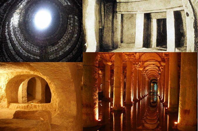 10 superstructures souterraines incroyables du monde antique