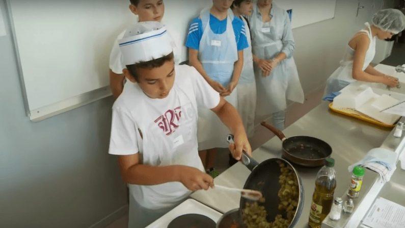 Apprendre la cuisine aux coll giens pour qu ils se for Apprendre la cuisine chinoise