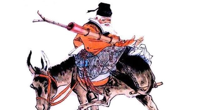 Zhang Guo Lao, le taoïste qui montait son âne à l'envers