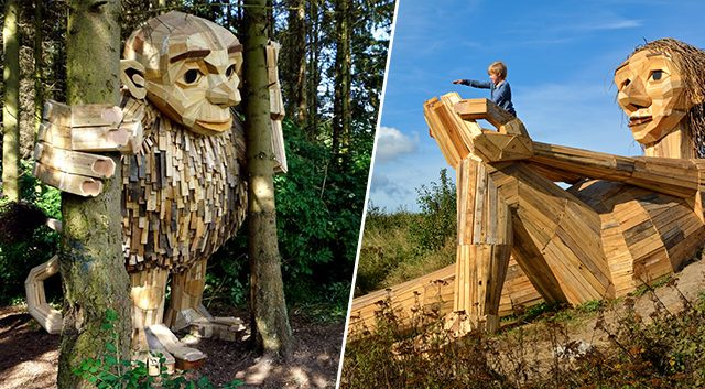 Six merveilleux géants cachés dans la nature !