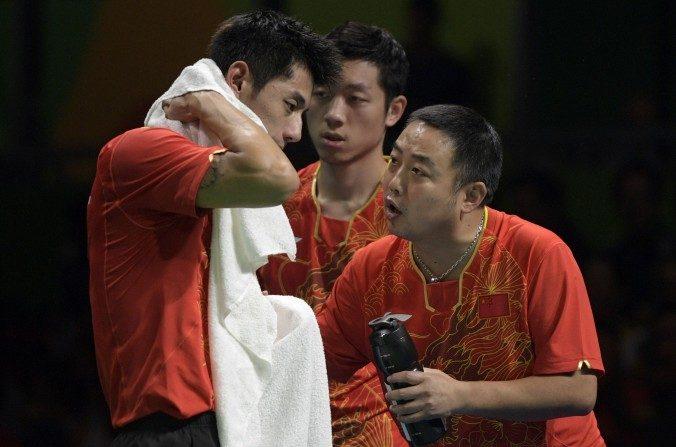 Jeux politiques dans le ping-pong chinois