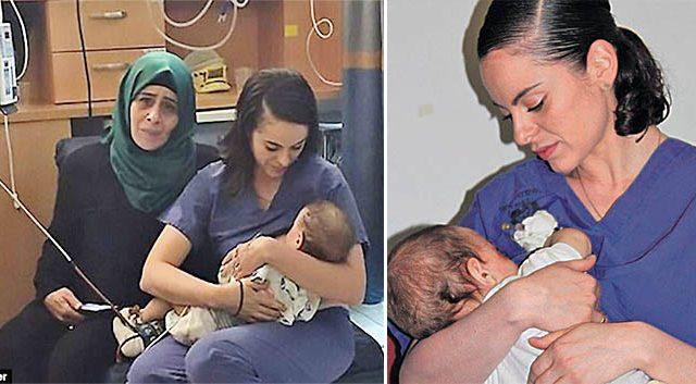 Une infirmière juive sauve un bébé palestinien en l'allaitant