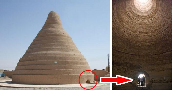 Ce réfrigérateur géant marche sans électricité dans le désert depuis 2000 ans