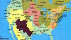 En Amérique, cette carte des nations amérindiennes est absente des livres d'histoire