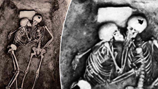 Le mystère des amants de Hasanlu qui s'embrassent depuis 2800 ans