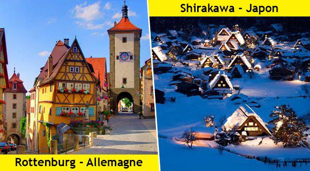 8 photos de villages magiques qui vous inspireront