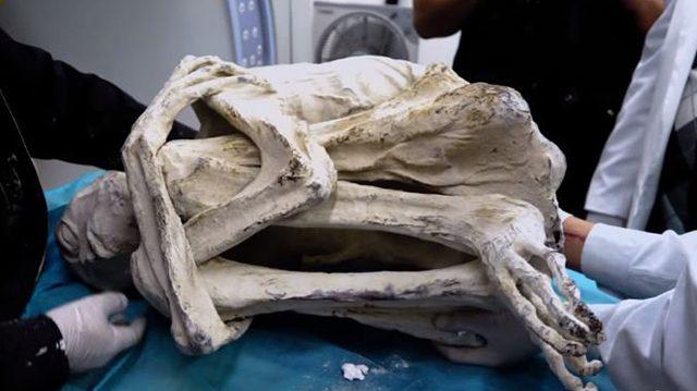 La découverte d'une «momie alien» à trois doigts reçoit un accueil sceptique