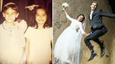 Leurs deux mères étaient amies, 20 ans plus tard leurs deux bébés se marient