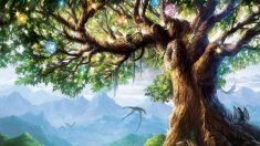La légende nordique de l'arbre-monde Yggdrasil