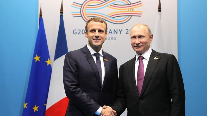 Macron, la Syrie et Poutine: enjeux et doubles-fonds