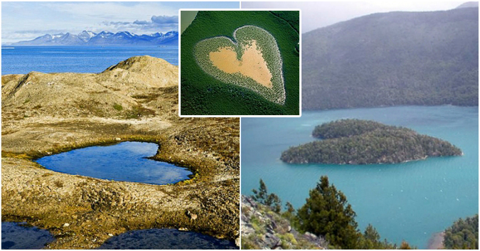 10 «cœurs» gigantesques que nous offre la nature