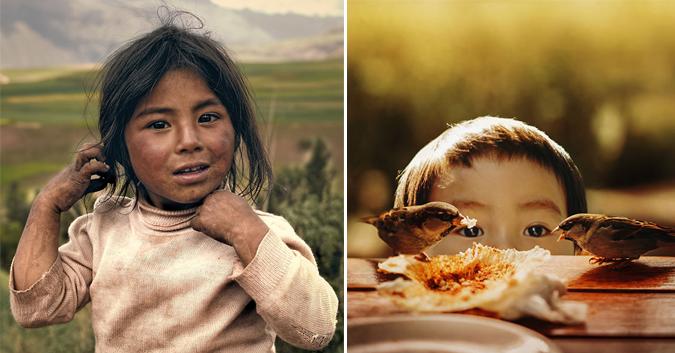 20 belles images sur l'innocence de l'enfance