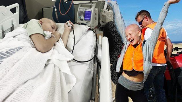 Une adolescente récupère miraculeusement d'un cancer et déconcerte ses médecins