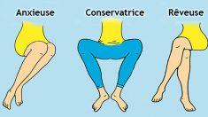 Ce que votre position assise révèle sur votre personnalité