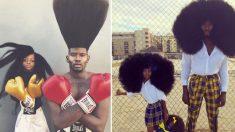 Ces superbes photos entre un papa et sa fille ont fait un buzz sur internet, regardez leurs cheveux!