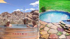 Soyez malins, profitez de l'été dans une piscine originale!