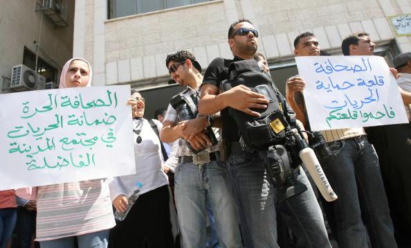 Toujours pas de liberté pour la presse palestinienne