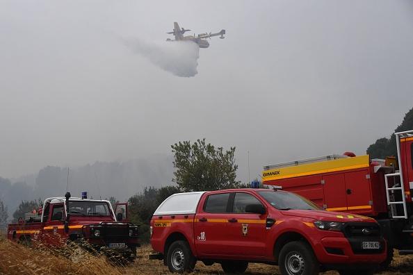 Saint-Pons-de-Mauchiens (Hérault): 500 hectares partis en fumée