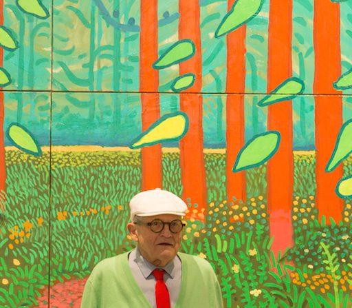 David Hockney fait don d'une œuvre spectaculaire au Centre Pompidou
