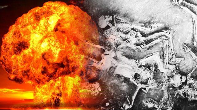 Des scientifiques ont découvert des preuves d'une antique guerre nucléaire