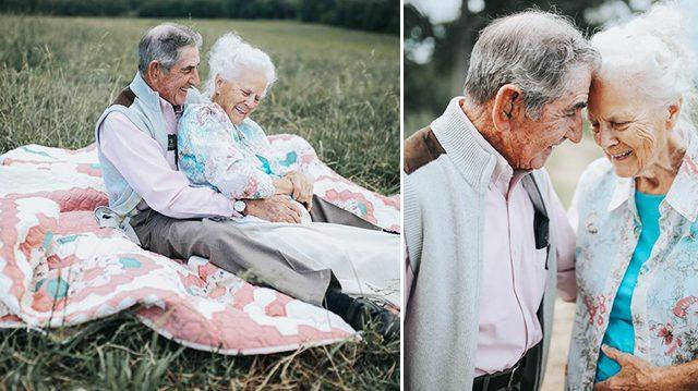 Ce couple vit ensemble depuis 68 ans et leur amour est toujours aussi fort!