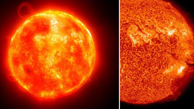Une éruption solaire « la plus puissante » en 12 ans a interrompu les communications pendant une heure, la semaine dernière