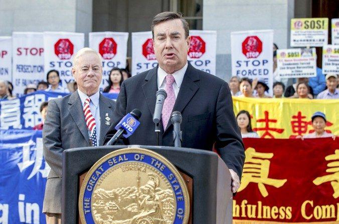 Le consulat chinois menace les sénateurs à cause d'une résolution sur les droits de l'homme
