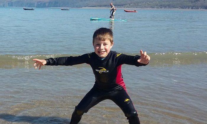 Un garçon de 8 ans a sauvé trois personnes à la mer. Mais la fois suivante, c'était «beaucoup plus sérieux»