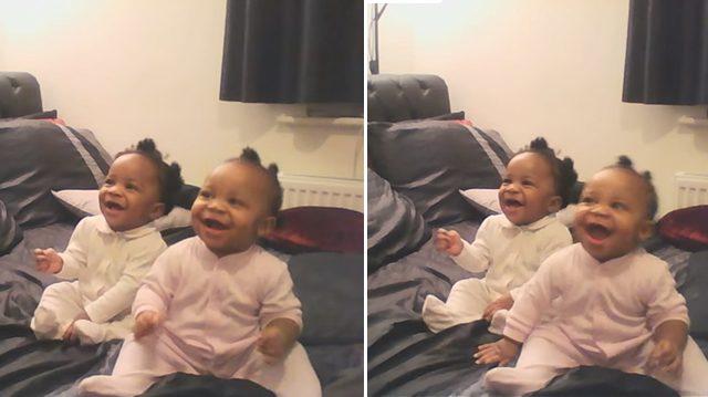 Ces jumelles bougent au rythme de leur mère dans cette vidéo virale – Mais regardez ce que fait le bébé de droite