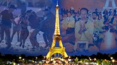 La majestueuse Tour Eiffel a rendu hommage à deux tragédies la semaine dernière – la fusillade de Las Vegas et la persécution du Falun Gong